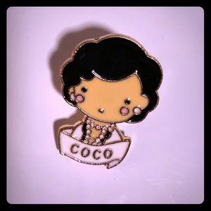 Coco Chanel Pin